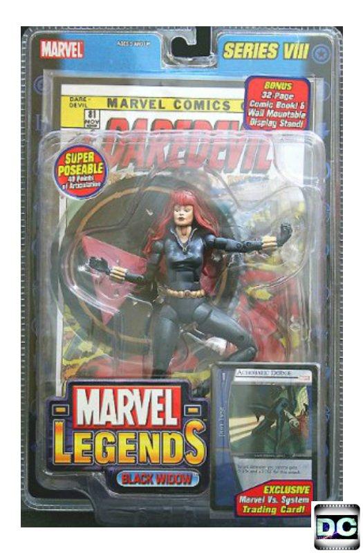 "Marvel Legends 71132: Black Widow 6"" Avengers 2004 + Daredevil # 81"