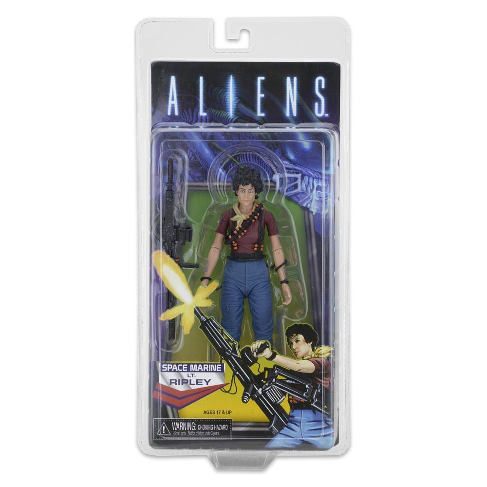 "Neca Aliens 30th Space Marine Ripley-Alien Day-Retro Kenner 7"" Figure, Reel Toys 2016 TRU"