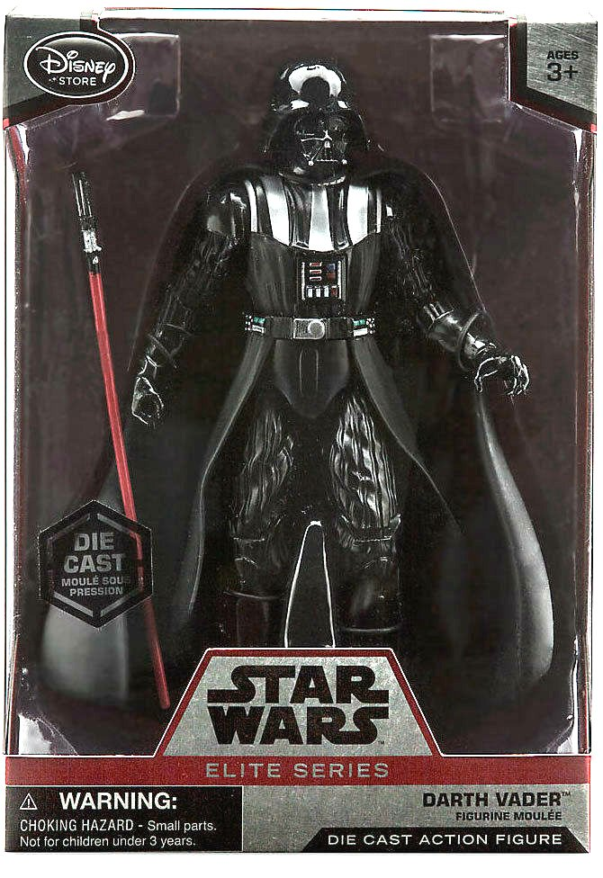 Darth Vader Star Wars Elite Series Disney Store Diecast Action Figure 2015 (MISB) Case Fresh