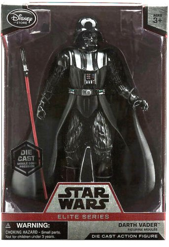 Darth Vader Star Wars Elite Series Disney Store Diecast 2015 (MISB) Case Fresh