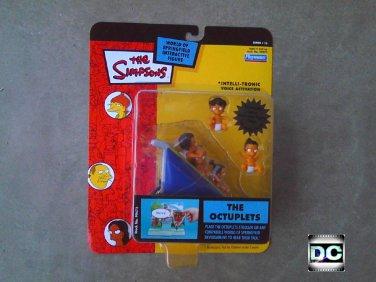 "99472 Simpsons Manjula's Octuplets, 5"" Playmates World of Springfield Series 15"
