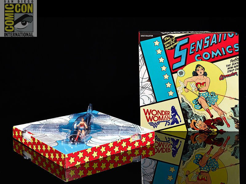 Wonder Woman Invisible Jet 1:18 Multiverse 2016 SDCC Exclusive DC 75th Anniversary Mattel 40515