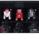 "Hasbro Star Wars B7695 Black Series 6"" Astromech Droid 3 Pack SDCC Exclusive Set (R2-A3 R5-K6 R2-F2)"