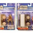 Mos Eisley Cantina Diorama Scene Set Star Wars ANH (Saga 2002) Hammerhead & Walrus Man-Walmart