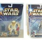 Wampa + Luke Hoth Cave-Star Wars Saga Esb-Ultra Ice Base Attack Deluxe Diorama Set, Hasbro 2004 (FS)