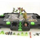 85514 Xevoz Figure Kit #25 Iron Spectre + Carry Case Battle Attack Transporter, Hasbro 2004 Stikfas