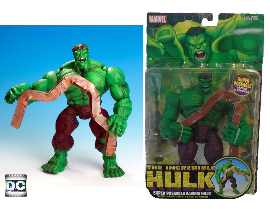 Savage Hulk 2004 Incredible Hulk Classics ToyBiz Marvel Legends 70801 Avengers / Defenders
