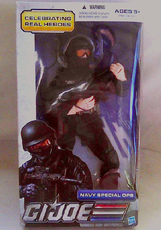 "Hasbro G.I. Joe 39464: Real Hero 30th Celebration 12"" Navy Special Ops 1/6 Figure MISB"