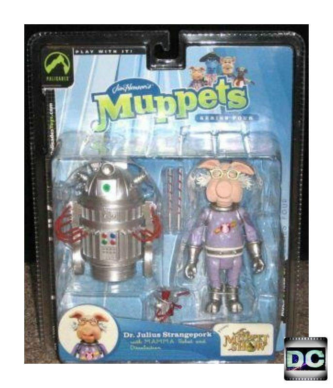 Dr. Julius Strangepork Palisades Muppet Show figure #12110, Series 4 Pigs in Space � Jim Henson