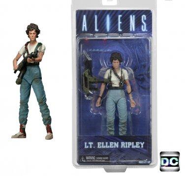 "Neca Aliens 7"" Series 5 Lt. Ellen Ripley (Queen Attack) 2015 Reel Toys (DCC51372)"