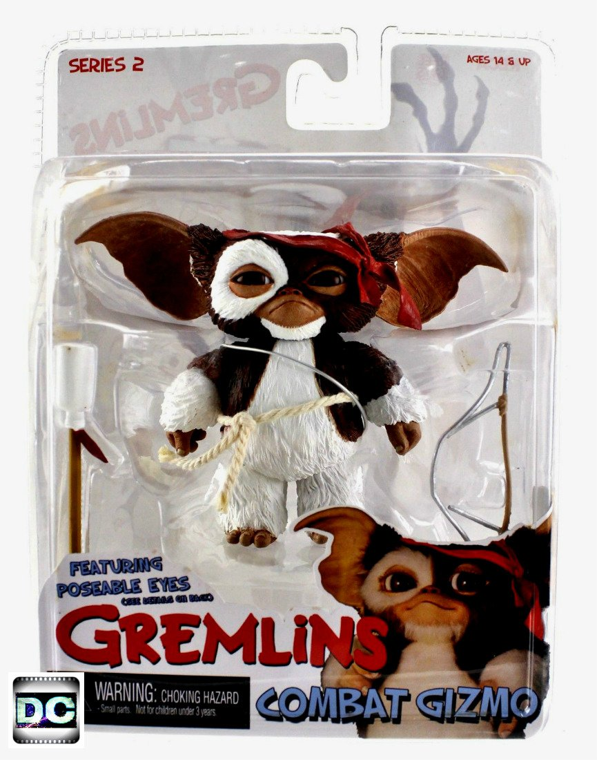Gremlins Mogwais Combat Gizmo (Rambo), Neca 2012 Reel Toys Cult Classics Series 2 7in Scale