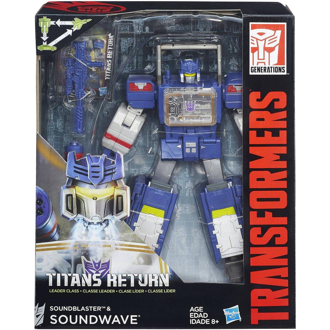 Soundwave & Soundblaster-Titans Return Transformers Generations (MP) Leader Class B8358