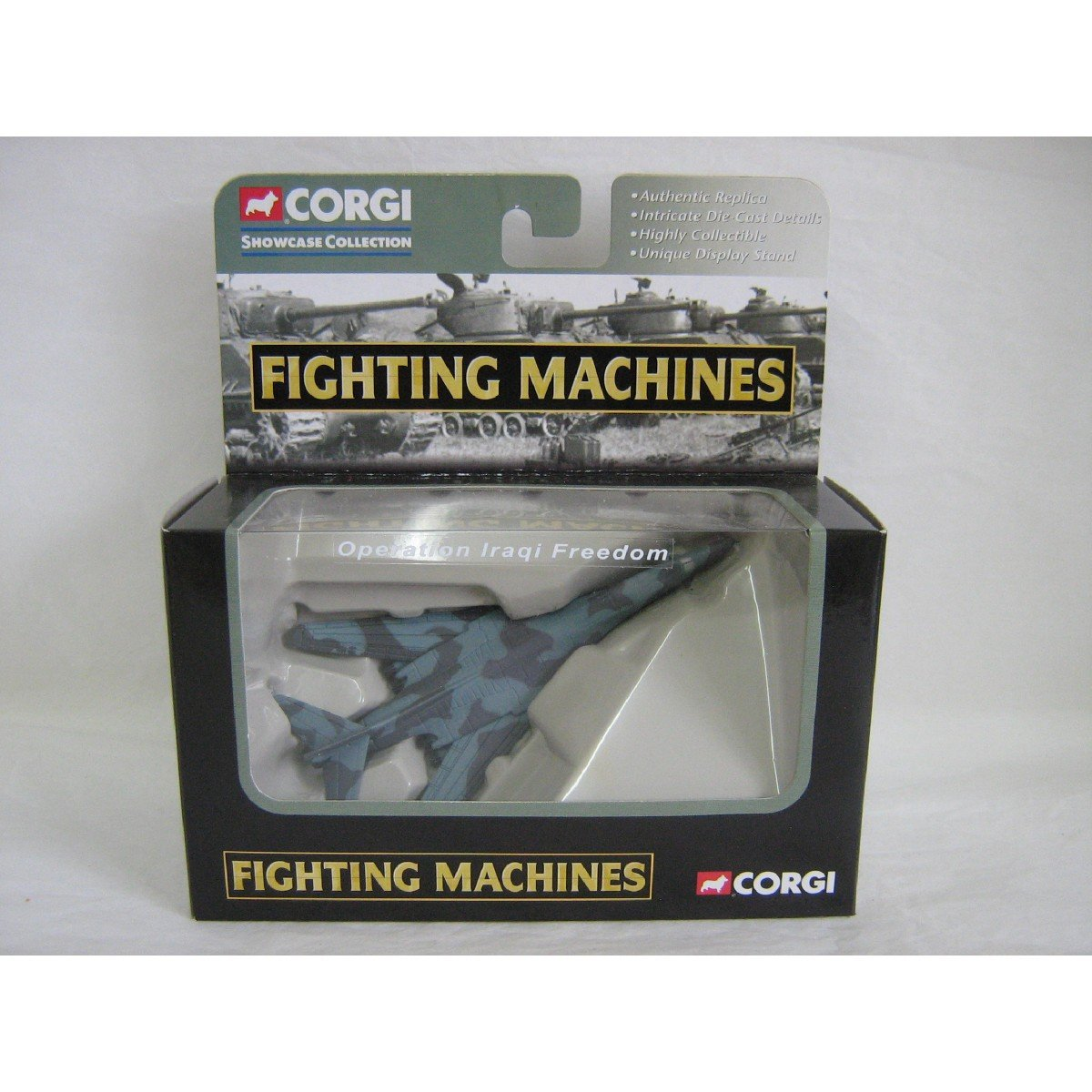 Corgi #20012: Fighting Machines > Operation Iraqi Freedom B-1 Model, Classic Showcase Diecast
