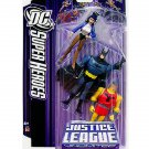 DCU Superheroes Justice League JLU 3 Pack: Batman Zatanna Shining Knight B:TAS Mattel NIP 4+