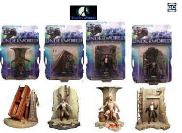 Underworld (2003) Mezco Vampire Werewolf Lycan AF Bundle Set {Goth, The Originals}