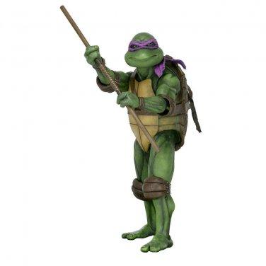 "Neca TMNT Ninja Turtles Donatello (1990 Movie) 1/4 Figure 16.5"" Premium Format"