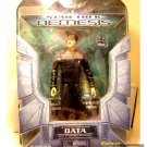 "Star Trek Art Asylum TNG 7"" Data action figure w/ Tricorder Diamond Select Nemesis/First Contact"