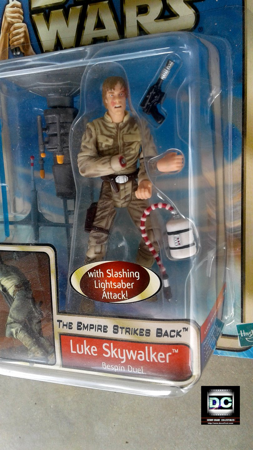 Luke Skywalker Bespin [Error Variant], Star Wars Cloud City Hasbro Saga ESB 2002