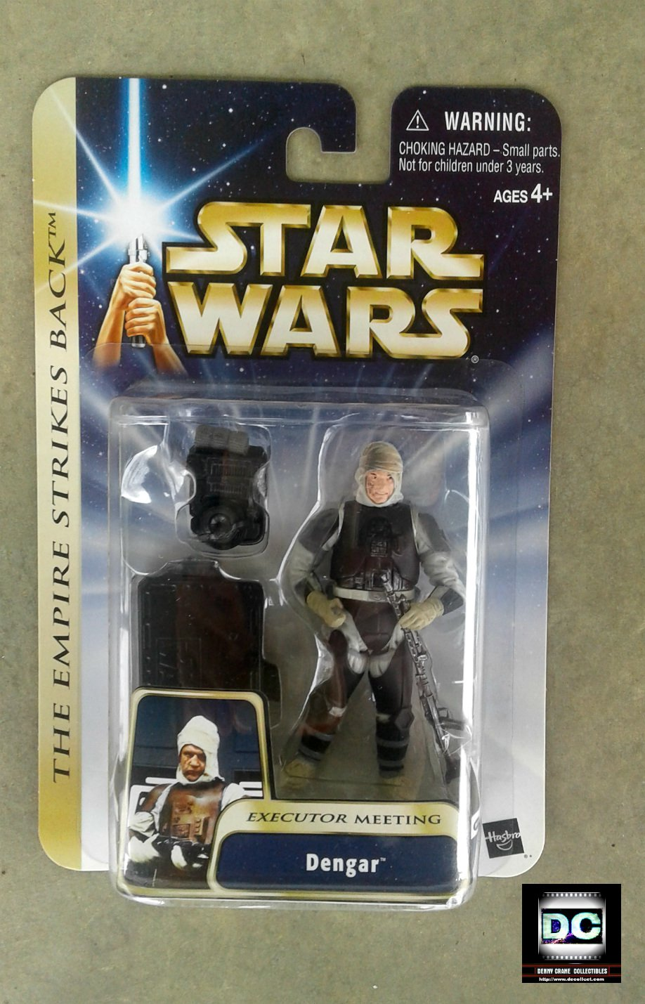 Dengar Bounty Hunter Star Wars Esb Saga 2004 (Executor Meeting)