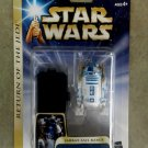Hasbro Star Wars figure R2-D2 Jabba's Sail Barge Droid, RotJ Saga Gold