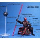 Saga TPM Darth Maul (Sith) + Probe Droid, 2002 Hasbro Star Wars 3.75""