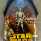 C-3PO Star Wars Revenge of the Sith #18 Protocol Droid MOC 2005 85291-Anthony Daniels