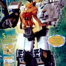 Power Rangers Dx Megazord-2002 Wild Force 10211 5 Zords Combiner MISB