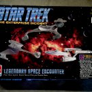 Amt Star Trek Starship Enterprise NCC-1701 + Klingon Cruisers Model Kit [Light/Sound]