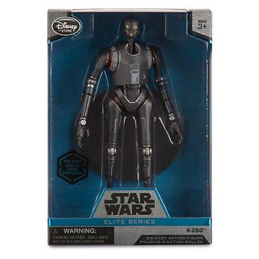 Disney Store K2SO (K-2SO) Droid, Star Wars Elite Series Diecast Action Figure, Rogue One 2016