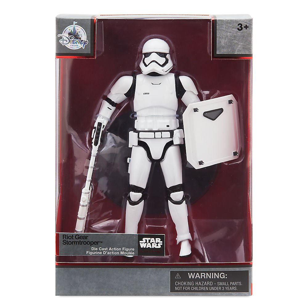 Riot Gear Stormtrooper Star Wars Elite Series Disney Store Diecast Action Figure The Force Awakens