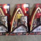 Art Asylum DST Star Trek Mirror Spock & Kirk, Chekov+Sulu+Scotty-TOS Enterprise Bridge-Diamond 2003