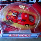 Transformers RID (2002): Autobot Side Burn Red Dodge Viper GTS, Hasbro Car Robots in Disguise 80647