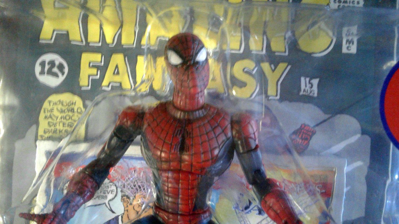 Marvel Legends Unreleased Prototype: Spider-Man Classic Stan Lee 1st Ditko Amazing Fantasy 15 ToyBiz