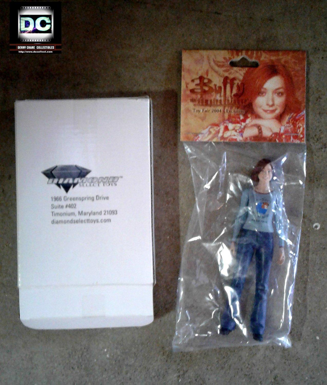 Buffy btvs Toy Fair Exclusive World Tour Willow Figure Diamond 2004 MIP � Alyson Hannigan