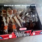 """Battle Over Mission City"" Transformers 2007 Movie Screen Battles, Hasbro 2008 Target Exclusive"