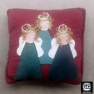 Angels Decorative Throw Pillow-Holidays Decor-Xmas Gift-Home Accent