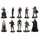 Disney Store Deluxe 10 PVC Figurine Play Set: Star Wars Rogue One 2016