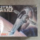 AMT Ertl 8768: Star Wars Boba Fett Slave I 1:85 scale model kit [sealed] w Han Solo in Carbonite