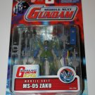 "Wing Gundam-W MSIA 0079 MS-05 Zaku Limited 4.5"" Action Figure Bandai #11545 2001"