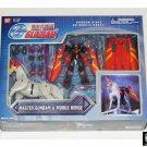 "Bandai Master Gundam & Mobile Horse Fuunsaiki Deluxe msia 4.5"" Action Figure Set #11391"