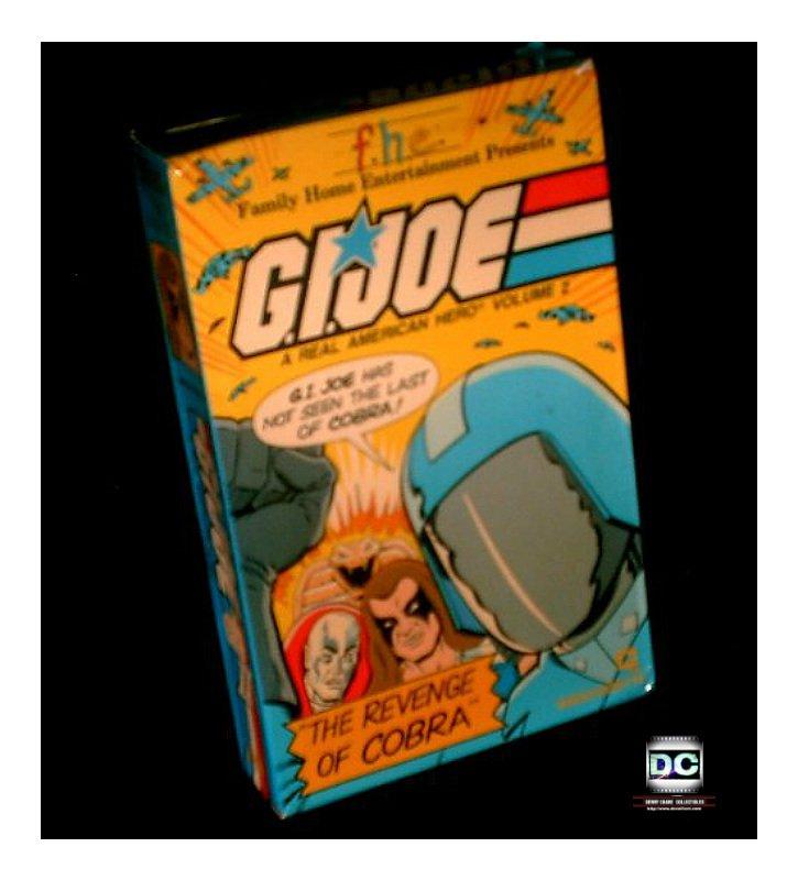 Vintage VHS Gi Joe 1984 Marvel Sunbow Cartoon Complete 80s Series Hasbro Video Tape OOP