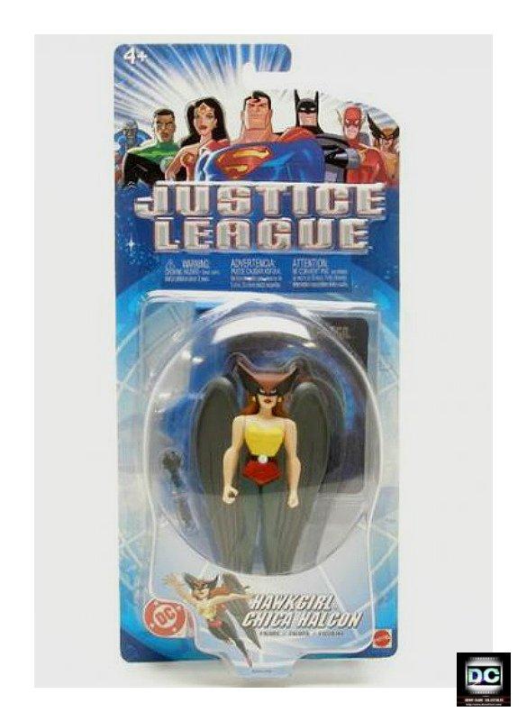 "Hawkgirl Justice League Unlimited Shayera 5"" Mattel DC Universe JLU 2003 Legends LoT � Bruce Timm"