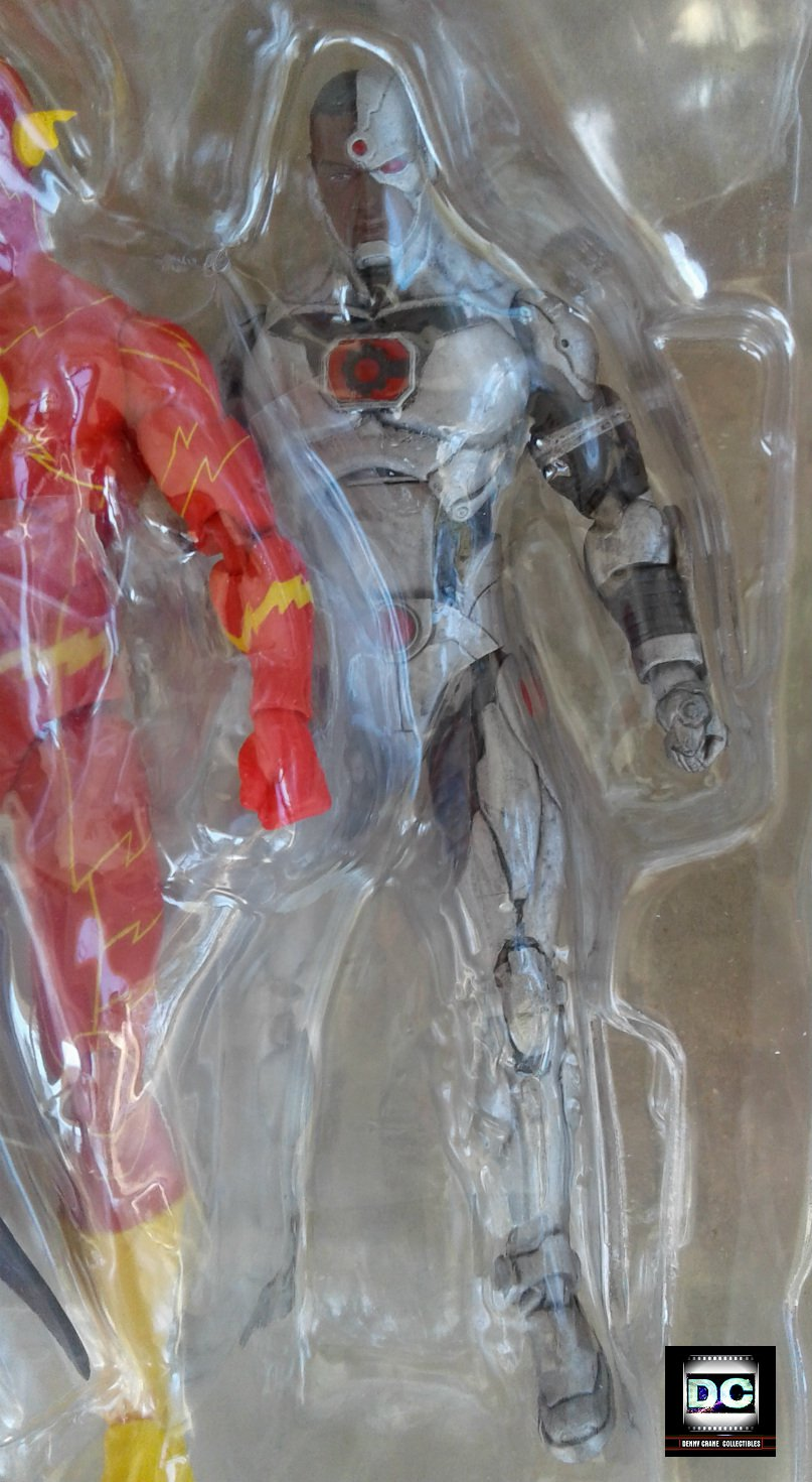 """DC Icons """"Cyborg"""" (Forever Evil) JLA Rebirth Justice League 2017 6"""" Action Figure"""