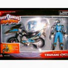 Power Rangers Sentai Ninja Storm (2003): Dx Blue Wind Tsunami Cycle Bandai 10453 MISB