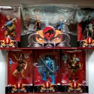 Thundercats Classic Complete Set 7 Mattel Third Earth Lion-O Mumm-Ra Panthro SDCC Wilykit Wilykat