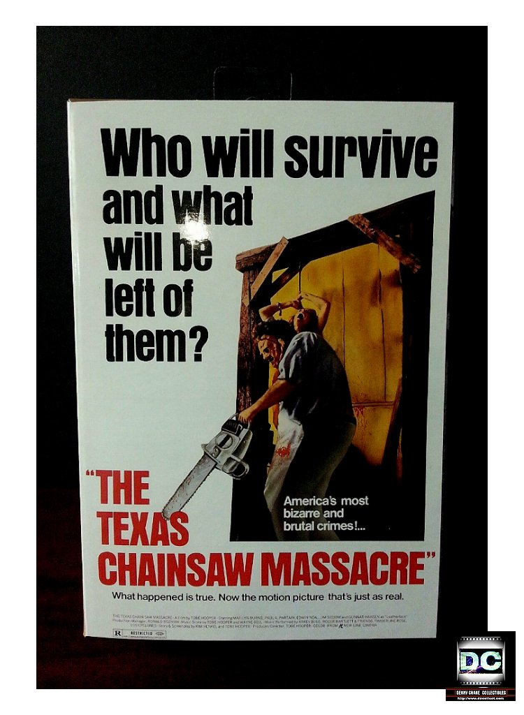 Texas Chainsaw Massacre Ultimate 40th Leatherface NECA 18cm 7-In Horror Figure 2015 Reel Toys 39748