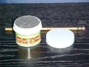 Original Japanese Bonsai Light Color Clay Cut Paste