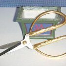 "7"" Stainless Steel Gold Handle Bonsai Shears"