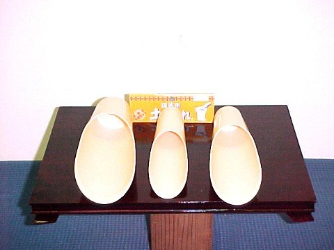 Japanese Bonsai Soil Scoops / Set of 3 sizes Plastic