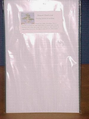 Larger Size Bonsai Pot Screen Material- 5 big sheets!
